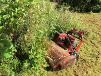 Flail mower hire