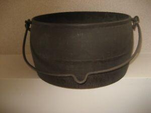 Antique Cast Iron Pot