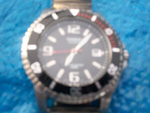 CASIO WATCH WATERPROOF TO 200 METERS 20 BAR