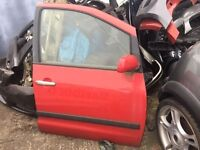 Seat Alhambra sheeran drivers side door red Volkswagen breaking full van