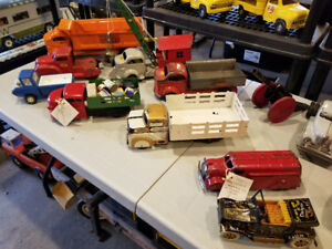 PRESSED STEEL COLLECTIBLE TOY TRUCKS