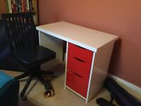 Child's aspace desk and chair