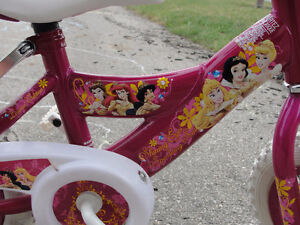 Pink Disney Princess Bike with Removable Training Wheels London Ontario image 3