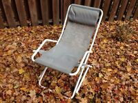 OUTDOOR LOUNGE CHAIRS. MATCHING SET OF 4.