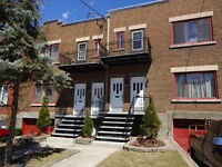 NDG/Snowdon, upper duplex 2+1 bedrooms,renovated,heated,garage