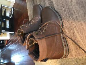 Brand new trendy men's boots. Size 8.5.