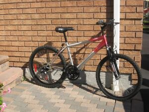 """21 speed 24"""" youth/men's Super Cycle mountain bike"""