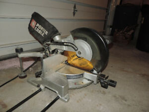 "12"" Porter Cable Single bevel Mitre Saw with laser"