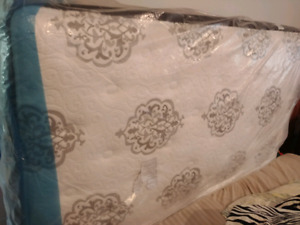 Plush Euro Top with box spring New