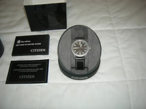 CITIZEN ECO DRIVE CHANDLER MENS WATCH NEW IN BOX