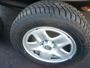 NEW MAZDA RIMS AND NEW WINTER TIRES 225-65-R17