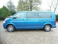 *£371 p/mth* TRANSPORTER SHUTTLE LONG LWB DISABLED WHEELCHAIR ACCESSIBLE 7 SEATS