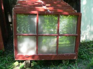 lot de fenêtre antique # 5236