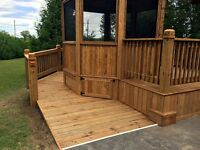 Decks, Access Ramps, Gazebos, Bathrooms, Backsplashes