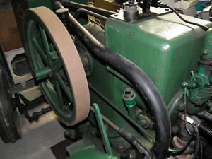 1/2 SCALE MODEL OF RUMLEY TRACTOR HAND BUILT . Windsor Region Ontario image 5
