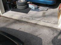 Wanted: Looking for garage concrete apron repair