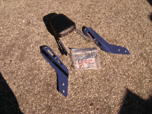 Honda VTX1800 Parts For Sale Back Rest Sissy Bar Muzzy Exhaust