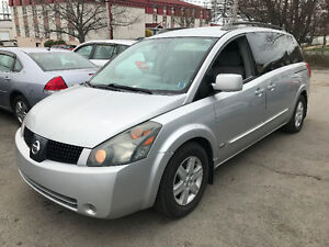 2006 Nissan Quest SL Pwr Sliding/DVD/Backup cam/New tires