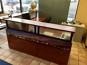 ***~~~ OFFICE RECEPTION DESK ~~~***