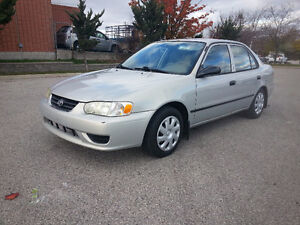 2002 Toyota Corolla CE - ACCIDENT FREE | CERTIFIED | WARRANTY