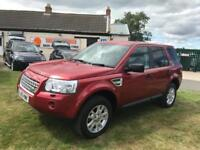 10 LAND ROVER FREELANDER 2.2 TD4 XS 4X4 79000 MILES FSH VERY CLEAN EXAMPLE