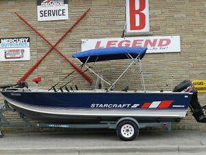 21' Starcraft 210 Mariner, 150 hp Mercury & Trailer