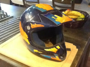 Casque de moto junior medium / Motocross, Bmx youth helmet