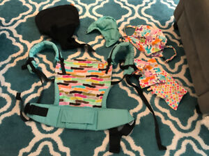 Standard Tula with infant insert and accessories