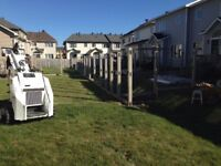 PVC fence for sale with installation