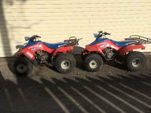 Twin 160 Quads FOR SALE