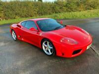 2000 Ferrari 360 3.6 Modena 2dr Coupe Petrol Manual