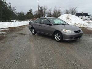 "2005 HONDA CIVIC 2dr Auto ""low Kms"""