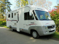 2008 4 Berth Rapido 990M A-class Mercedes Motorhome UNDER OFFER