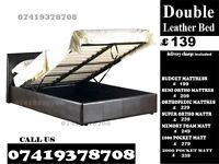 SHAM Double Leather storage Base memory fooam Bedding
