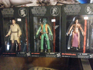 "Star Wars - the Black Series first wave 6"" figures"