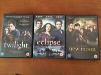 Twilight DVD's