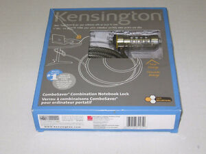 Kensington Combosaver Combination Notebook Lock Gatineau Ottawa / Gatineau Area image 1