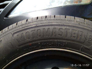 4 Tires with Rims in good condition total $225