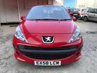 2008 Peugeot 207 1.6 HDi S 5dr (a/c)
