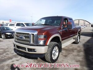 2008 FORD F350SD KING RANCH CREW CAB 4WD