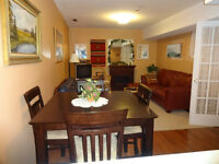 self contained suite in beautiful Barnhartvale weekly or monthly