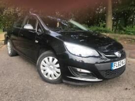 2012 Vauxhall Astra 1.4 i VVT 16v Exclusiv Hatchback 5dr Petrol Manual (129