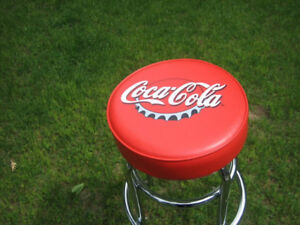Coca Cola 100th Anniversary Edition Padded Bar Stool