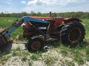 Nuffield 4/65 with loader