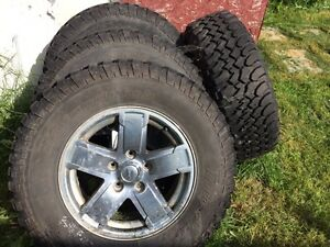 Jeep Grand Cherokee rims /tires