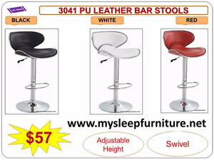 BRAND NEW- BAR STOOLS- acrylic, plastic, leather, Many colors City of Toronto Toronto (GTA) image 10