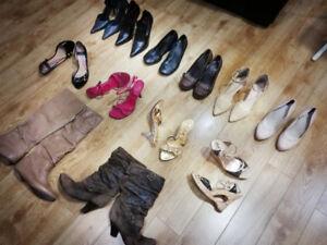 Women's shoe lot - Size 7-7.5