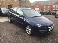 2005 Ford Focus 1.6 Zetec Climate, 5 Door, Blue, 120k Miles, Part Service History, 12 Mot, X2 Keys