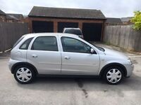 Vauxhall corsa 1.2 low millage with (FSH)