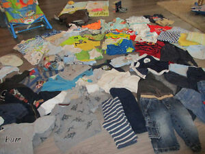 Large Lot of Baby Boy Items (100+)